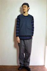 画像9: 【MORE SALE】  Niche (ニッチ) Pasar Vest [NAVY] (9)