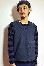 画像6: 【MORE SALE】  Niche (ニッチ) Pasar Vest [NAVY] (6)