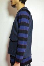 画像7: 【MORE SALE】  Niche (ニッチ) Pasar Vest [NAVY] (7)
