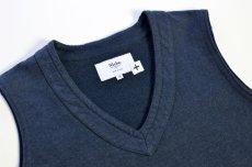 画像2: 【MORE SALE】  Niche (ニッチ) Pasar Vest [NAVY] (2)