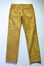 画像4: 【MORE SALE】 A VONTADE (アボンタージ) Suede Jeans [COYOTE] (4)