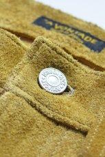画像7: 【MORE SALE】 A VONTADE (アボンタージ) Suede Jeans [COYOTE] (7)