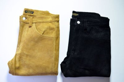 画像3: 【MORE SALE】 A VONTADE (アボンタージ) Suede Jeans [COYOTE]