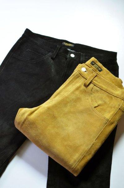 画像2: 【MORE SALE】 A VONTADE (アボンタージ) Suede Jeans [COYOTE]
