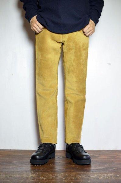 画像1: 【MORE SALE】 A VONTADE (アボンタージ) Suede Jeans [COYOTE] (1)