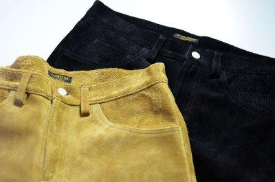 画像1: 【MORE SALE】 A VONTADE (アボンタージ) Suede Jeans [COYOTE]
