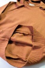 画像6: 【MORE SALE】FLISTFIA (フリストフィア) Long Sleeve After Hooded [Camel] (6)