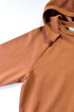 画像4: 【MORE SALE】FLISTFIA (フリストフィア) Long Sleeve After Hooded [Camel] (4)
