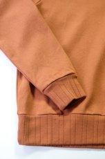 画像5: 【MORE SALE】FLISTFIA (フリストフィア) Long Sleeve After Hooded [Camel] (5)