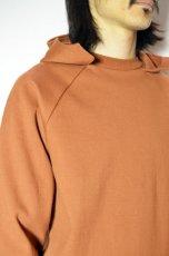 画像12: 【MORE SALE】FLISTFIA (フリストフィア) Long Sleeve After Hooded [Camel] (12)