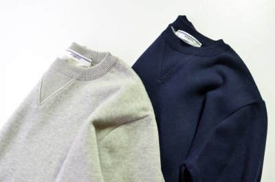 画像2: FUJITO (フジト) Crew Neck Sweater [2-colors]