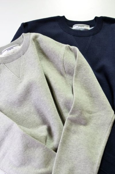 画像3: FUJITO (フジト) Crew Neck Sweater [2-colors]