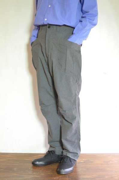 画像1: 【MORE SALE】  A VONTADE (アボンタージ) Fatigue Trousers [MID GRAY TOP] (1)
