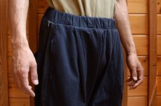 画像2: 【MORE SALE】 WILLY CHAVARRIA (ウィリー キャバリア) BUFFALO JOGGER SHORTS〔BLACK〕 (2)