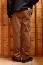 画像13: 【MORE SALE】*A VONTADE (アボンタージ) 2 Tuck Atrlier Trousers [BROWN] (13)
