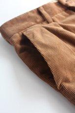 画像10: 【MORE SALE】*A VONTADE (アボンタージ) 2 Tuck Atrlier Trousers [BROWN] (10)