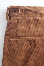 画像9: 【MORE SALE】*A VONTADE (アボンタージ) 2 Tuck Atrlier Trousers [BROWN] (9)