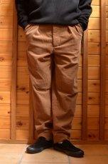 画像11: 【MORE SALE】*A VONTADE (アボンタージ) 2 Tuck Atrlier Trousers [BROWN] (11)
