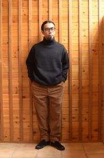 画像14: 【MORE SALE】*A VONTADE (アボンタージ) 2 Tuck Atrlier Trousers [BROWN] (14)