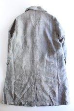 画像9: 【MORE SALE】*A VONTADE (アボンタージ) Linen Duster Coat  [NAVY GREN CHECK] (9)