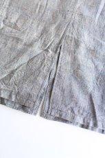 画像10: 【MORE SALE】*A VONTADE (アボンタージ) Linen Duster Coat  [NAVY GREN CHECK] (10)