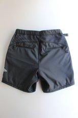 画像7: 【MORE SALE】and wander (アンドワンダー) double jacquard knit short pants [CHARCOAL] (7)