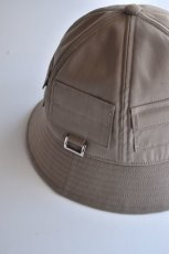 画像8: 【MORE SALE】Indietro Association (インディエトロアソシエーション) Pocket metro hat [2-colors] (8)