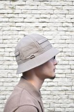 画像17: 【MORE SALE】Indietro Association (インディエトロアソシエーション) Pocket metro hat [2-colors] (17)