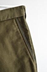 画像5: 【MORE SALE】FUJITO (フジト) Tapered Pants [OLIVE GREEN] (5)