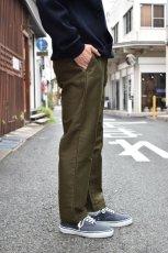 画像11: 【MORE SALE】FUJITO (フジト) Tapered Pants [OLIVE GREEN] (11)