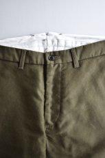 画像3: 【MORE SALE】FUJITO (フジト) Tapered Pants [OLIVE GREEN] (3)