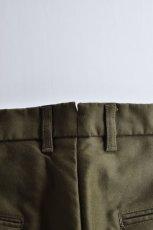 画像9: 【MORE SALE】FUJITO (フジト) Tapered Pants [OLIVE GREEN] (9)