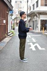 画像14: 【MORE SALE】FUJITO (フジト) Tapered Pants [OLIVE GREEN] (14)