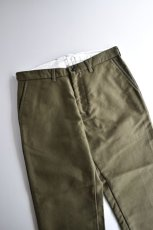 画像2: 【MORE SALE】FUJITO (フジト) Tapered Pants [OLIVE GREEN] (2)