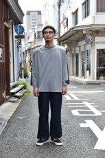 画像10: 【MORE SALE】TRAINERBOYS(トレーナーボーイズ) ALL ROUND 3/4 T-SHIRT [GRAY] (10)