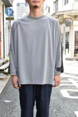 画像7: 【MORE SALE】TRAINERBOYS(トレーナーボーイズ) ALL ROUND 3/4 T-SHIRT [GRAY] (7)