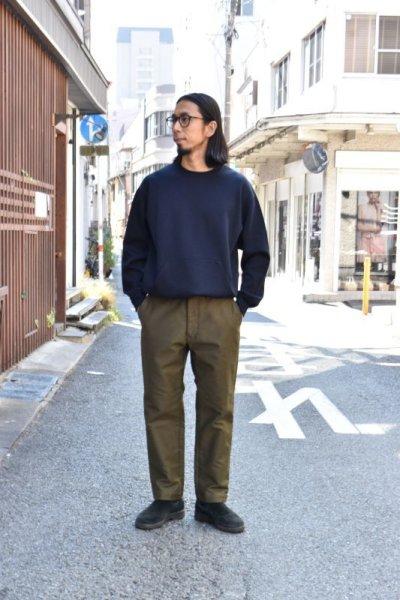 画像1: 【MORE SALE】FUJITO (フジト) Tapered Pants [OLIVE GREEN]
