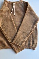 画像4: 【MORE SALE】FUJITO (フジト) Commando Sweater [2-colors] (4)
