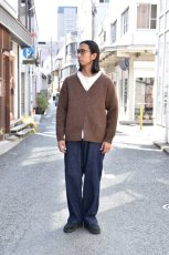 画像14: 【MORE SALE】comm.arch. (コム・アーチ) HAND FRAMED 5GG ZIP CARDIGAN [2-color] (14)