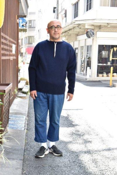 画像2: 【MORE SALE】FUJITO (フジト) Commando Sweater [2-colors]