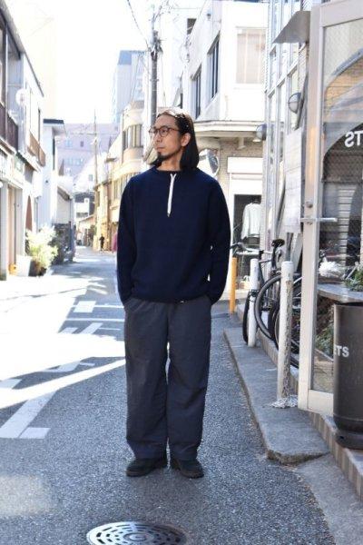 画像1: 【MORE SALE】FUJITO (フジト) Commando Sweater [2-colors]