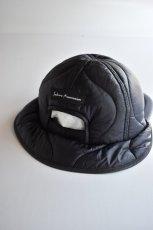 画像3: 【MORE SALE】Indietro Association (インディエトロアソシエーション) Quilting Cap [BLACK] (3)