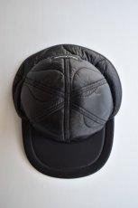 画像5: 【MORE SALE】Indietro Association (インディエトロアソシエーション) Quilting Cap [BLACK] (5)