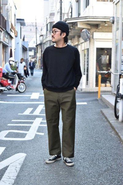 画像3: 【MORE SALE】FUJITO (フジト) Tapered Pants [OLIVE GREEN]