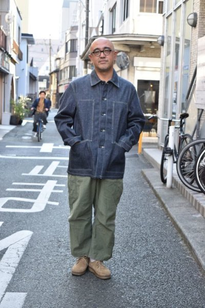 画像1: *A VONTADE (アボンタージ) PW Denim Coveralls [INDIGO]