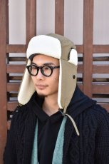 画像13: 【MORE SALE】BURLAP OUTFITTER (バーラップアウトフィッター) AVIATOR HAT〔2-colors〕 (13)