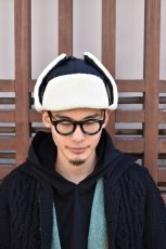 画像15: 【MORE SALE】BURLAP OUTFITTER (バーラップアウトフィッター) AVIATOR HAT〔2-colors〕 (15)