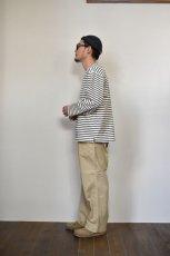 画像13: MASTER & Co. (マスターアンドコー) CHINO PANTS with BELT [BEIGE] (13)