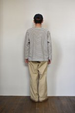 画像14: MASTER & Co. (マスターアンドコー) CHINO PANTS with BELT [BEIGE] (14)