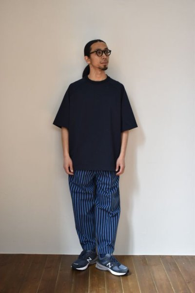 画像1: Scye (サイ) Organic Cotton Jersey Raglan T-Shirt [2-colors]